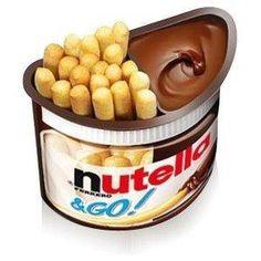 On the Go Nutella! WWWHHAAAAT! yes please