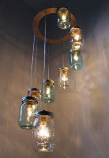 Ball Jar Light ... love it.