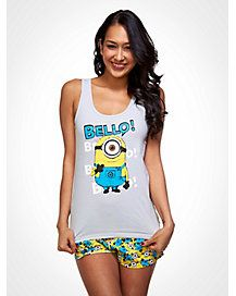 Despicable Me Pajama Set