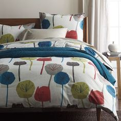 LoftHome By The Company Store® Jessie Floral Duvet Cover