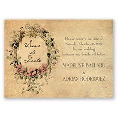 Vintage Love Affair - Save the Date Magnet