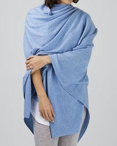 100% merino oversized wrap, (available in three shades) $179 www.sassind.com
