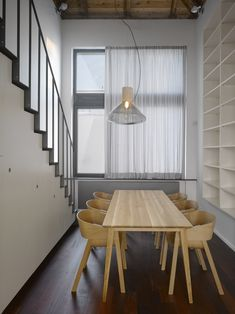 Traditional chairs, bar-stools and upholstered chairs made from bent wood as well as design novelties. Interior Exterior, Interior Design, Traditional Chairs, Plywood Sheets, Bent Wood, Scandinavian Design, Furniture Making, Upholstered Chairs, Home And Living