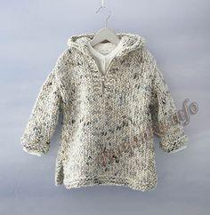 Пуловер c капюшоном (д) 03*150 Phildar №5022