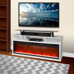 Custom fireplace and media center | Fireplaces | Pinterest ...