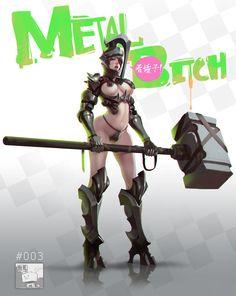 Metal X3, DIMA Chen on ArtStation at https://www.artstation.com/artwork/matel-x3