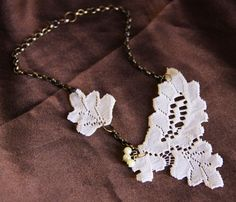 Lace Necklace by Objects and Subjects