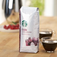 Caffè Verona®  A full-bodied, multi-region blend of coffees with the sweet touch of Italian Roast. Tasting Notes  Dark Cocoa & Roasty Sweet Enjoy this with:  Chocolate truffles and dinner guests. Roast Dark   $12.95 1 lb  http://websites-buy.com/starbucks-coffee-store