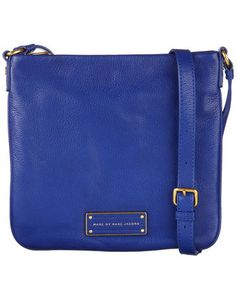 "Marc by Marc Jacobs - Damen Handtasche ""Too Hot to Handle Sia"" #electric #blue #fashion #engelhorn"