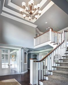 "1,551 Likes, 20 Comments - Barrington Homes (@barrington_homes) on Instagram: ""With a foyer like this fashionably late would be more than appropriate!"""