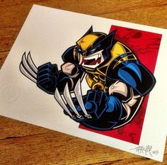 The Wolverine by Tracy Tubera (tracytuberaart.bigcartel.com)
