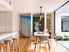 Design Hub - блог о дизайне интерьера и архитектуре: Яркий дом для семьи в пригороде Мельбурна