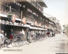 OLD PHOTOS of JAPAN: 松島遊郭 1880年代の大阪