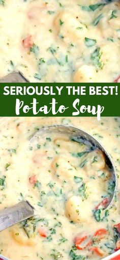 The Best Potato Soup…a thick , creamy, hearty soup that's absolutely delicious! The Best Potato Soup…a thick , creamy, hearty soup that's absolutely delicious! Crock Pot Recipes, Potato Recipes, Cooking Recipes, Good Soup Recipes, Potatoe Dinner Recipes, Potato Stew Recipe, Potato Dinner, Steak Recipes, Best Potato Soup
