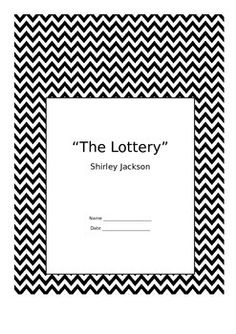 an analysis of the vague ending in the lottery by shirley jackson Esther 1 lisa esther yanover english 121 section # sample literary analysis essay about shirley jackson's the lottery 19 aug 2014.