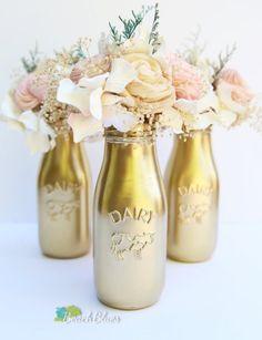 Large Baby Bottle Decoration Diy Large Glass Domecloche Using Ikea Candle Holder And Vase