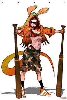Personal Work - Lizard Fighters 2 ✤ || CHARACTER DESIGN REFERENCES | キャラクターデザイン | çizgi film • Find more at https://www.facebook.com/CharacterDesignReferences & http://www.pinterest.com/characterdesigh if you're looking for: bande dessinée, dessin animé #animation #banda #desenhada #toons #manga #BD #historieta #sketch #how #to #draw #strip #fumetto #settei #fumetti #manhwa #cartoni #animati #comics #cartoon || ✤