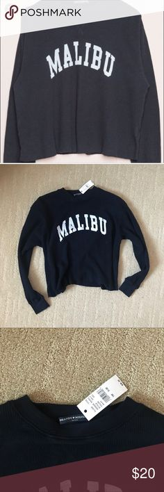 Brandy Melville Malibu Thermal New  No trades Brandy Melville Sweaters Crew & Scoop Necks