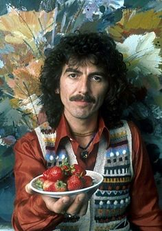 For George Harrison it was a Plate of Strawberries. For Paul, A Bowl of Cherries.