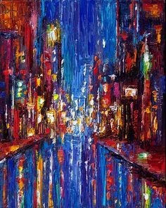 Image result for midnight jazz abstract art