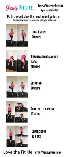 Purely Twins: why you should warm-up #purelyfitlife 22 warm-up routine