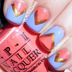OPI Euro Centrale mani This is You're Such a Budapest, Suzi's Hungary Again!, and Goldeneye  @A Whole Lotta Love Laura