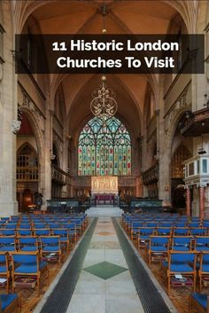 11 Historic London Churches To Visit: some of the most gorgeous and spiritual places you'll ever see.