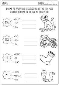 Criar Recriar Ensinar Com Imagens Atividades Alfabetizacao E