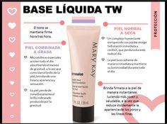 En Mary Kay tenemos una Base de Maquillaje Líquida para cada tipo de piel. Descubrí cuál fórmula es especial para vos. Piel Combinada a Grasa vs Piel Normal a Seca.