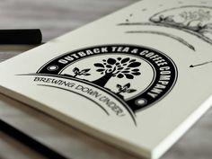Outback Tea & Coffee Company Logo Design