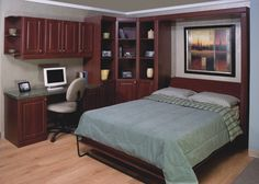 Home Office with Murphy Bed!