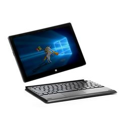 4GB+64GB 10.1 inch Windows 10 system laptop tablet 2 in 1 Quad core I n t e l Z8300 Mini laptop notebook computer on sale