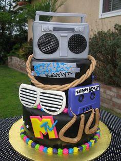 80's Cake by thecakemamas, via Flickr