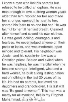 a true man.