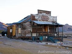 Very cool ghost town in Nevada