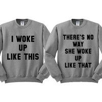 See more CRAZY, FUNNY matching BFF tees, hoodies, and sweaters in the Best Friends collection! on Wanelo