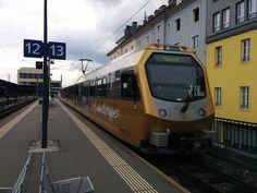 ET 1 - Die Himmelstreppe - der Mariazellerbahn im Hauptbahnhof am 27.05.2015. Memories, Club, Trains, Central Station, Heavens, Memoirs, Souvenirs, Remember This