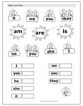Resultado de imagen de verb to be for kids