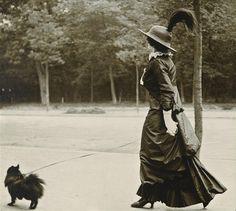 little dog!   Jacques-Henri Lartigue      Bois de Boulogne, Paris1910