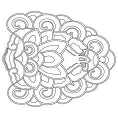 연꽃문 Chinese Patterns, Japanese Patterns, Korean Traditional, Traditional Art, Japanese Art Styles, Chinese Element, Korean Painting, Batik Pattern, Piercings