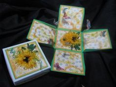 Yellow Daisies Explosion Box