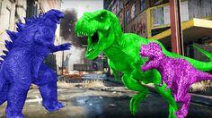Dinosaurs Vs Godzilla Fighting | Animal Videos For Kids | Dinosaurs Fighting | Animal Compilation https://youtu.be/bwNx9vBfPbw