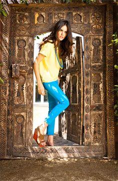 Trouvé Top & Paige Jeans | #Nordstrom