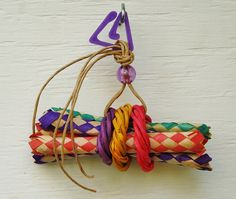 Vine & Bamboo Chew Bird Toys Parrot Toys by WhiteWingBirdToys, $7.75