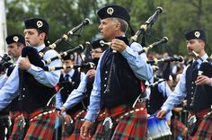 The Simon Fraser University Pipe Band performs at the Vogue Theatre on Sunday (April 15) at 2 p.m.