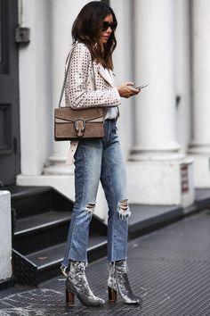 Autumn fashion trends → velvet | velvet ankle boots