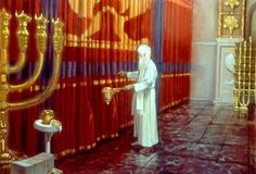 Veil/Curtain in Holy of Holies