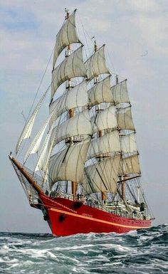 """Kerch, Russia, the sailing ship """"Khersones"""". In the ship rounded Cape horn under sail. Today training sailing vessel is under repair. Bateau Pirate, Old Sailing Ships, Yacht Boat, Sail Away, Submarines, Wooden Boats, Tall Ships, Water Crafts, Lighthouse"""