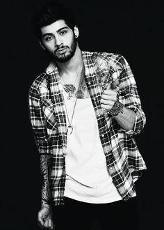 Nueva foto de Zayn Malik para el nuevo libro de One Direction :)