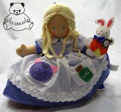 topsy turvy Alice in Wonderland doll